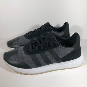 NEW Adidas FLB Runner Sneakers - Grey & Black